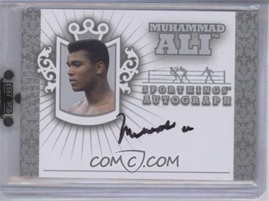 2010 Sportkings Series D Autographs Silver #A-1 - Muhammad Ali