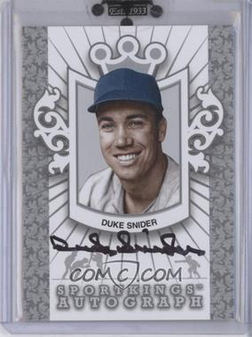 2010 Sportkings Series D Autographs Silver #A-2 - Duke Snider