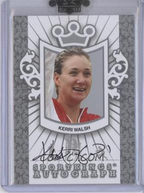 2010 Sportkings Series D Autographs Silver #A-KWA1 - Kerri Walsh