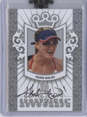 2010 Sportkings Series D Autographs Silver #A-KWA2 - Kerri Walsh