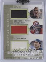 Georges St-Pierre, Patrick Roy, Gary Carter