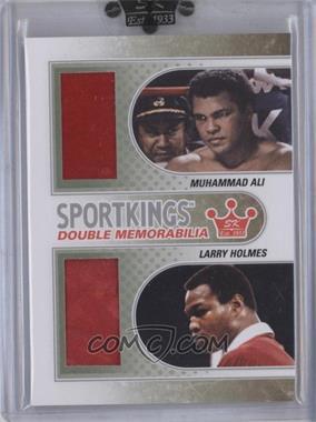 2010 Sportkings Series D Double Memorabilia Silver #DM-05 - [Missing]
