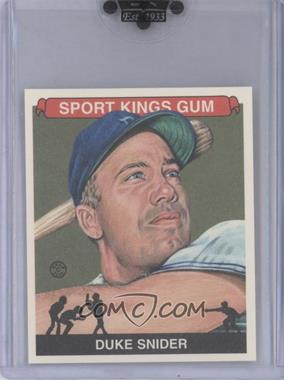 2010 Sportkings Series D Mini #162 - Duke Snider