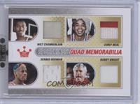 Curly Neal, Bob Knight, Wilt Chamberlain, Dennis Rodman