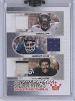 Warren Sapp, Lawrence Taylor, Joe Greene