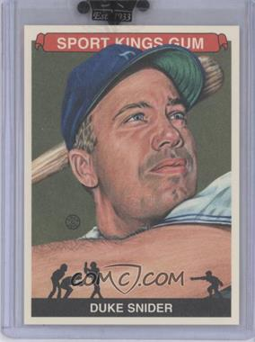 2010 Sportkings Series D #162 - Duke Snider