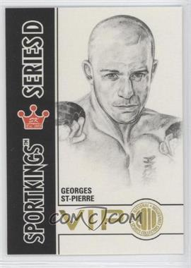 2010 Sportskings National Convention VIP Series D #VIP-15 - Georges St-Pierre