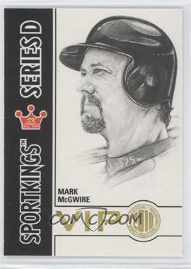 2010 Sportskings National Convention VIP Series D #VIP-16 - Mark McGwire
