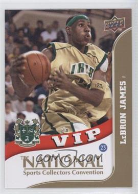 2010 Upper Deck The National VIP #VIP-3 - Lebron James