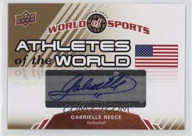 2010 Upper Deck World of Sports - Athletes of the World #AW-22 - Gabrielle Reece