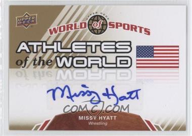2010 Upper Deck World of Sports - Athletes of the World #AW-26 - Missy Hyatt