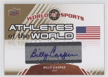 2010 Upper Deck World of Sports - Athletes of the World #AW-30 - Billy Casper