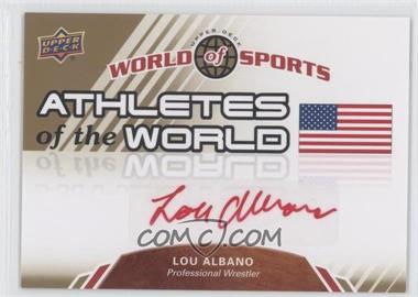 2010 Upper Deck World of Sports - Athletes of the World #AW-76 - Lou Albano
