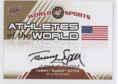 """2010 Upper Deck World of Sports - Athletes of the World #AW-86 - Tammy """"Sunny"""" Sytch"""