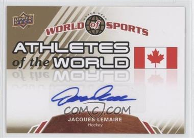 2010 Upper Deck World of Sports - Athletes of the World #AW-95 - Jacques Lemaire
