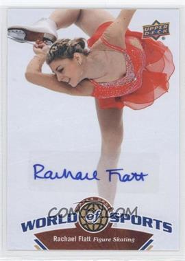2010 Upper Deck World of Sports - [Base] - Autograph [Autographed] #211 - Rachael Flatt
