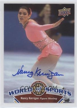 2010 Upper Deck World of Sports - [Base] - Autograph [Autographed] #228 - Nancy Kerrigan