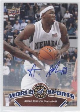 2010 Upper Deck World of Sports - [Base] - Autograph [Autographed] #55 - Armon Johnson