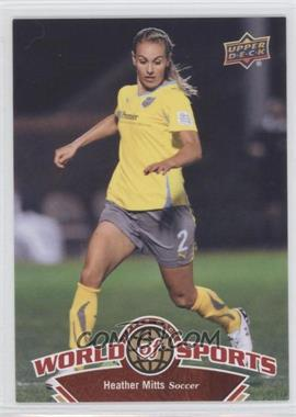 2010 Upper Deck World of Sports - [Base] #107 - Heather Mitts