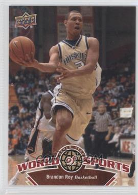 2010 Upper Deck World of Sports - [Base] #3 - Brandon Roy