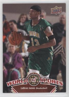 2010 Upper Deck World of Sports - [Base] #336 - Lebron James
