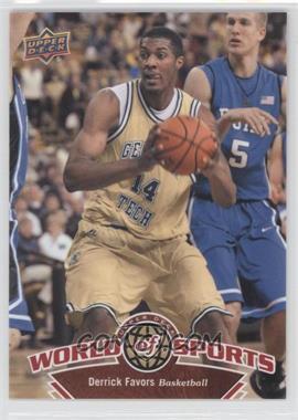 2010 Upper Deck World of Sports - [Base] #41 - Derrick Favors