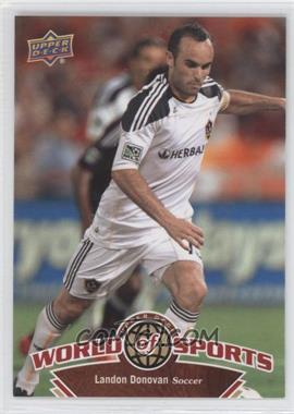 2010 Upper Deck World of Sports - [Base] #62 - landon donovan