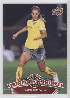 2010 Upper Deck World of Sports [???] #107 - Heather Mitts