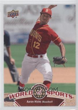 2010 Upper Deck World of Sports [???] #132 - Aaron Hicks
