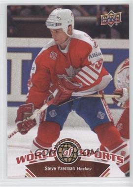2010 Upper Deck World of Sports [???] #312 - Steve Yzerman