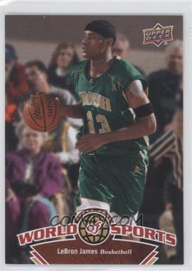 2010 Upper Deck World of Sports [???] #336 - Lebron James