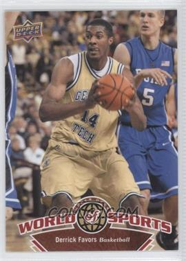 2010 Upper Deck World of Sports [???] #41 - Derrick Favors