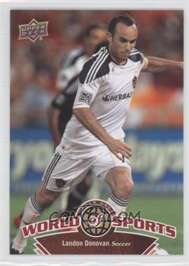 2010 Upper Deck World of Sports [???] #62 - landon donovan