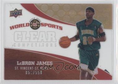 2010 Upper Deck World of Sports [???] #CC-1 - Lebron James /550