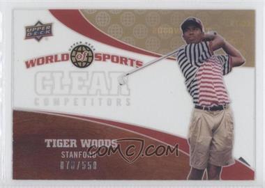 2010 Upper Deck World of Sports [???] #CC-13 - Tiger Woods /550