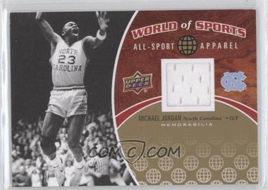 2010 Upper Deck World of Sports All-Sport Apparel #ASA-2 - Michael Jordan