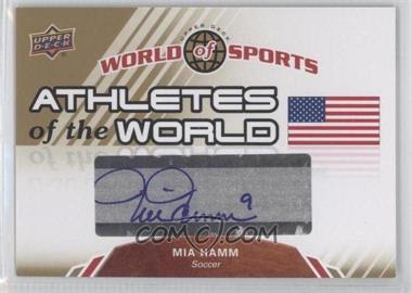 2010 Upper Deck World of Sports Athletes of the World #AW-11 - Mia Hamm
