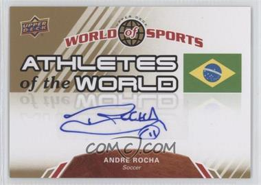 2010 Upper Deck World of Sports Athletes of the World #AW-19 - [Missing]