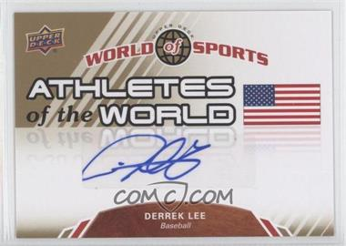 2010 Upper Deck World of Sports Athletes of the World #AW-2 - Derrek Lee