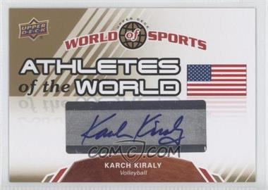 2010 Upper Deck World of Sports Athletes of the World #AW-23 - [Missing]