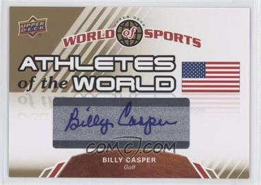 2010 Upper Deck World of Sports Athletes of the World #AW-30 - Billy Casper
