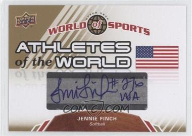 2010 Upper Deck World of Sports Athletes of the World #AW-46 - [Missing]