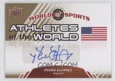 2010 Upper Deck World of Sports Athletes of the World #AW-48 - [Missing]