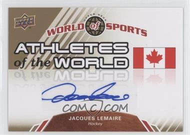 2010 Upper Deck World of Sports Athletes of the World #AW-95 - [Missing]