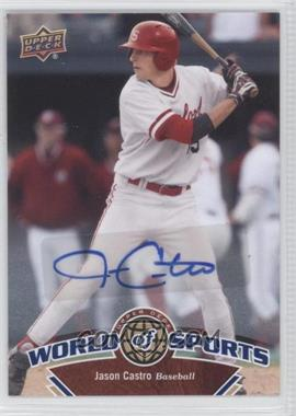 2010 Upper Deck World of Sports Autograph [Autographed] #126 - Jason Castro