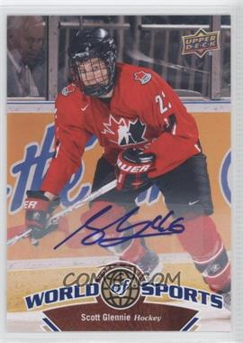 2010 Upper Deck World of Sports Autograph [Autographed] #192 - Scott Glennie