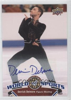 2010 Upper Deck World of Sports Autograph [Autographed] #226 - Derrick Delmore