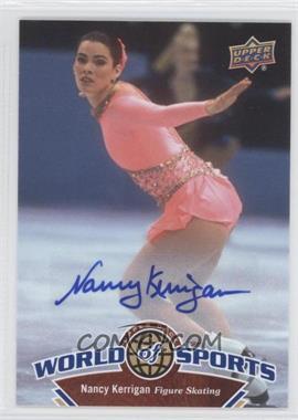 2010 Upper Deck World of Sports Autograph [Autographed] #228 - Nancy Kerrigan