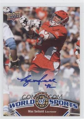 2010 Upper Deck World of Sports Autograph [Autographed] #299 - Max Seibald