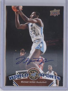 2010 Upper Deck World of Sports Autograph [Autographed] #337 - Michael Jordan
